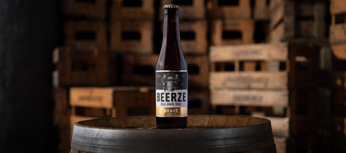 Beerze BRAVE bier Robert Mies THE BRAVE