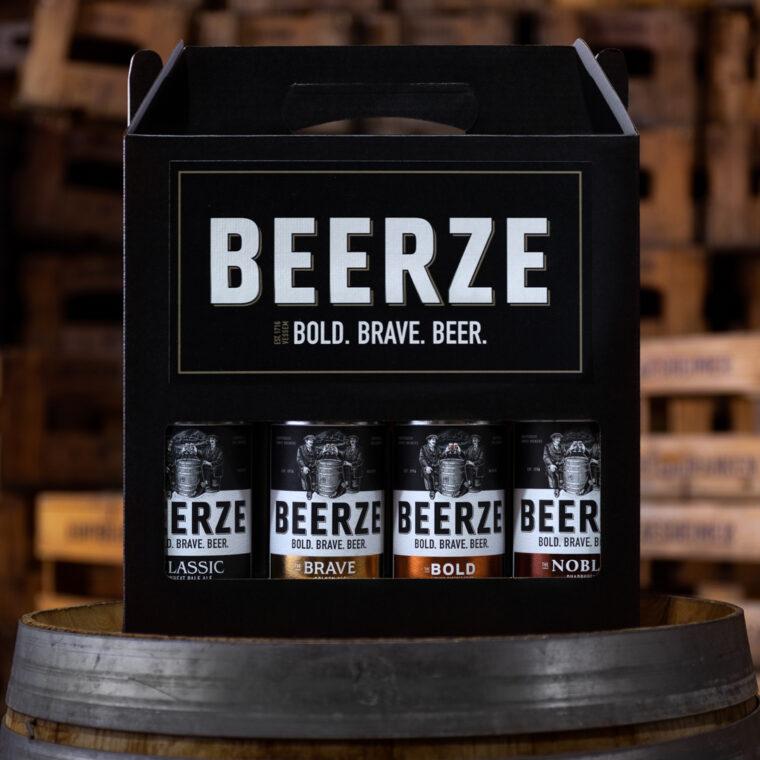 Beerze BOLD. BRAVE. BIERPAKKET. Robert Mies
